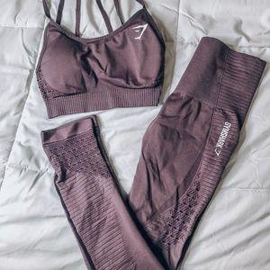 Gymshark Purple Vital Seamless Set
